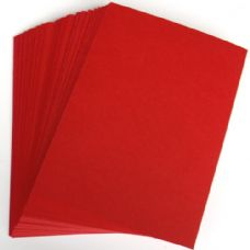 A4 Red Card Stock (297mmx210mm) 250gsm